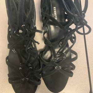 Black Gladiator Sandal